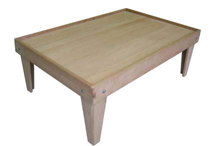 Cherry Train Table Made in the USA | Choo Choo Track & Toy Co.