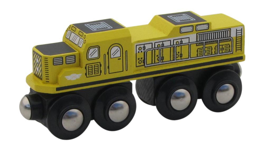 Yellow Diesel Engine