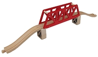 Red Truss Bridge Set