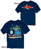 Thomas with Moon Glow in the dark T-shirt