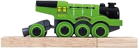Bigjigs Green Flying Scotsman Battery-Powered Engine