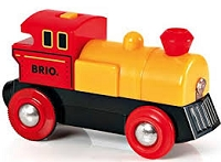 Brio Yellow Battery-Powered Engine