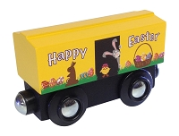 Yellow Easter Boxcar
