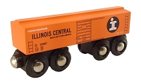 Illinois Central Orange Boxcar