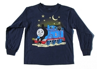 Long Sleeve Thomas with Moon Glow in dark T-shirt