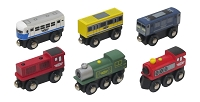 6 pc. Train Car Set