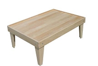 Maple Train Table Frame - FREE SHIPPING
