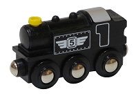 Black Steam Engine