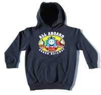 Navy All Aboard Thomas Hoodie