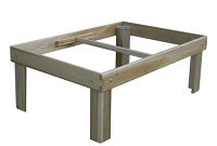 Poplar Train Table Frame - FREE SHIPPING