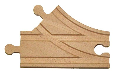 "3-1/2"" Switch MMF Wooden Track"