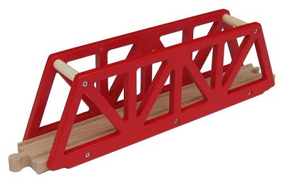 Red Truss Bridge