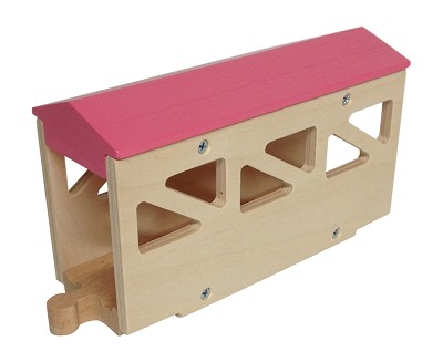 Pink Covered Bridge wooden track