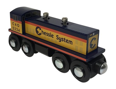 Chessie System Switcher Engine front view