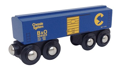 Chessie System Boxcar Wooden Train