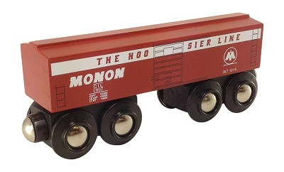 Monon Boxcar Wooden Train