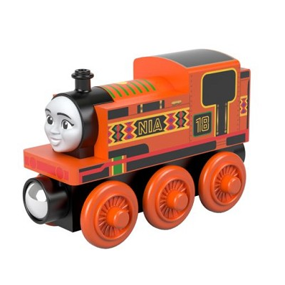 Nia - Thomas wooden railway engine
