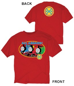 Red Thomas & Friends T-shirt (2-sided)