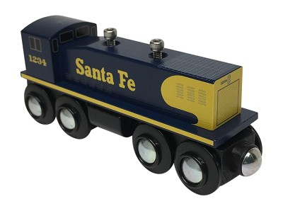 Santa Fe Switcher Engine front view