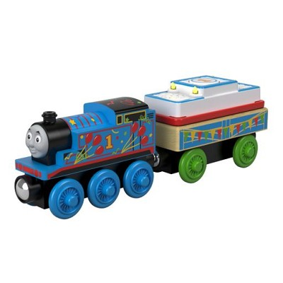 Birthday Thomas - Thomas wooden railway engine