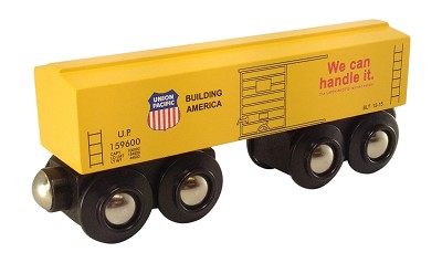 Union Pacific Yellow Boxcar